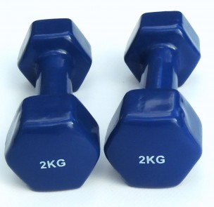Dumbells set  2 x 2 kg