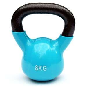 kettlebell – 8 kg – blauw
