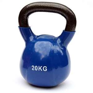 Kettlebell – 20 kg – donkerblauw