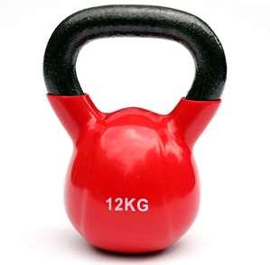 Kettlebell – 12 kg – rood