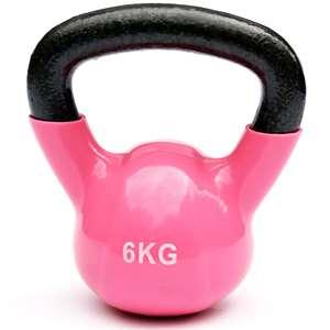Kettlebell – 6 kg – roze